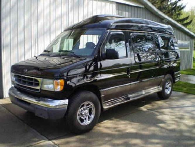 Ford E Tuscany Conversion Handicap Van With Sport High Top on Duel Sport Kit
