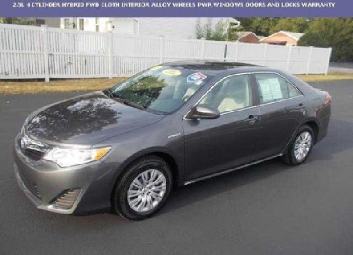 24 350 2013 toyota camry hybrid hybrid le for sale in toledo ohio classified. Black Bedroom Furniture Sets. Home Design Ideas