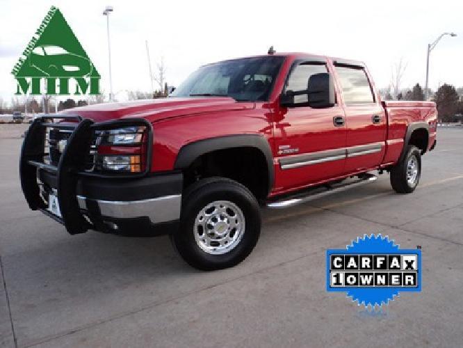 $24,500 2006 Chevrolet 2500 HD Crew Cab SLT Duramax Diesel with Allison