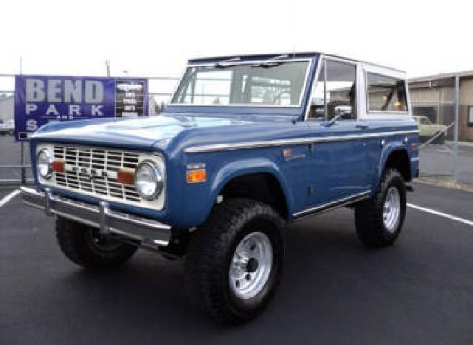 24 500 used 1970 ford bronco for sale for sale in bend oregon classified. Black Bedroom Furniture Sets. Home Design Ideas