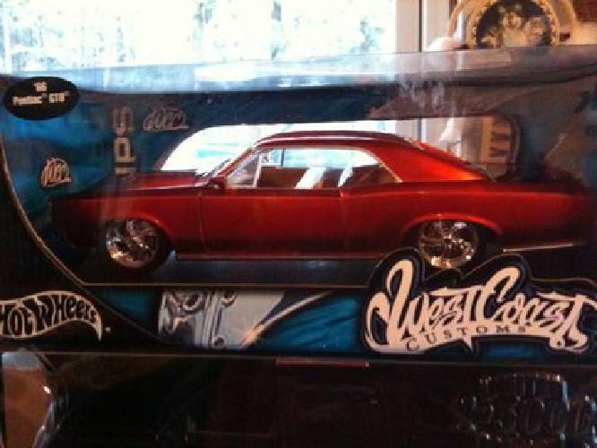 $24 66 Pontiac GTO West Coast Customs Scale 1:18