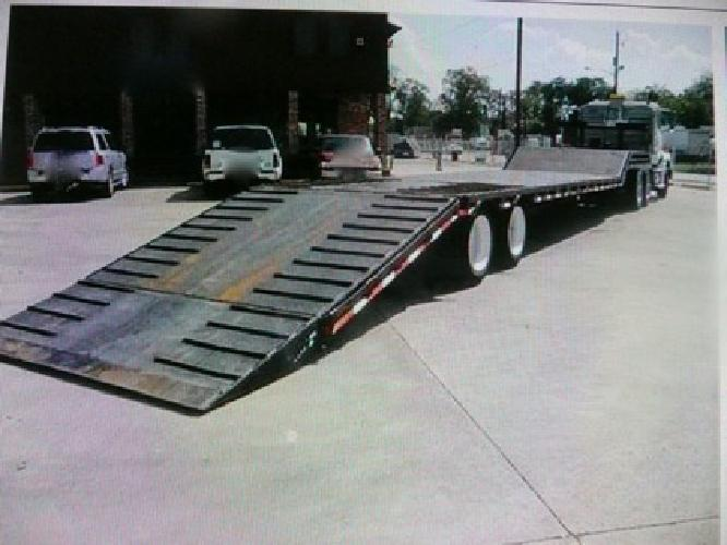 24 900 2000 Ledwell 48 35 Ton Drop Deck Hydratail