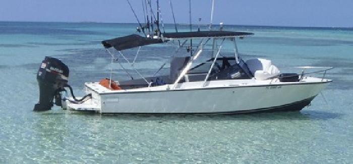 24 Albemarle Boat w/ 300hp Suzuki four stroke