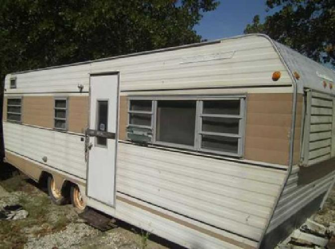24 travel trailer good for hunting cabin 600 obo for