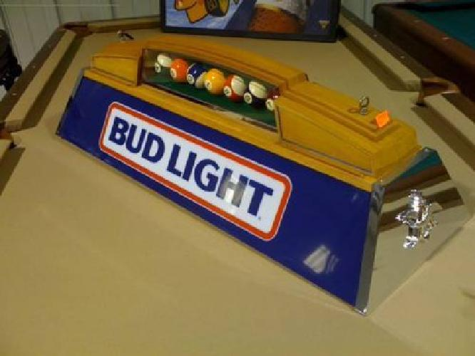 Attrayant $250 1985 Pool Table Light From Budlight Bud Mancave Man Cave Game Room Bar
