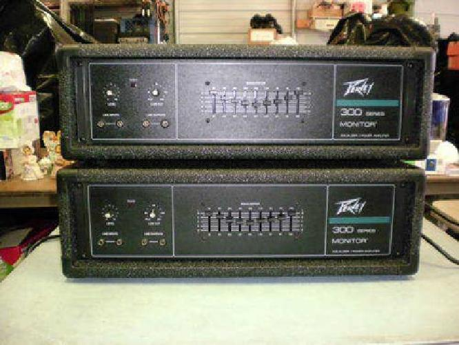 $250 2- Peavey Amp/Equalizer 150 Watt Each Great Condition