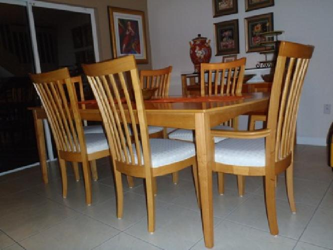 250 6 Dining Room Chairs Buffet Server PRICED TO SELL For Sale In Miam