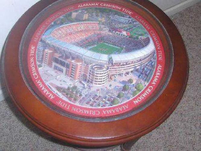 $250 Alabama Football Game/End Table.