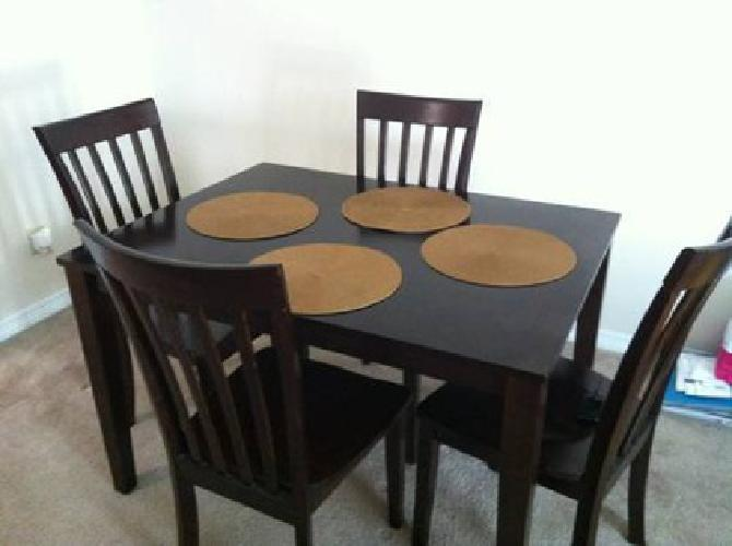 250 Ashley Espresso Dinning Table For Sale In Port Neches