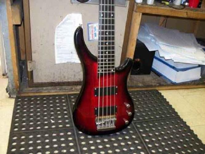 $250 Aslin Dane 5string Bass