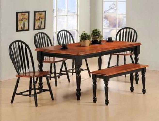 250 Black Cherry Dining Room Table Chairs For Sale In
