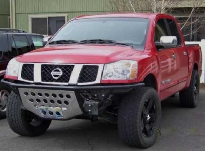 250 Got To Sell Nissan Titan Prerunner Bumper For Sale In Medford