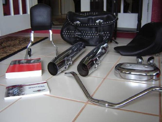 $250 miscellaneous motorcycle parts & accessories