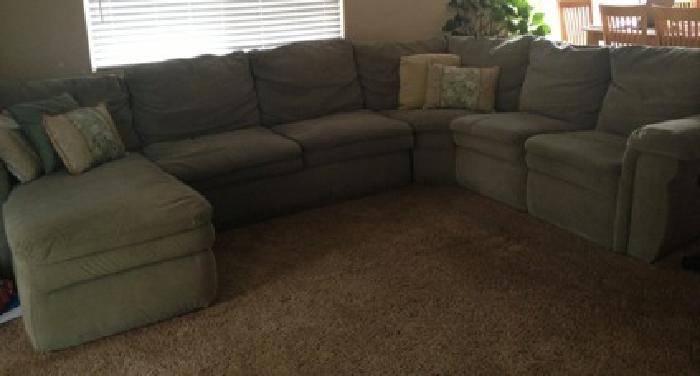 $250 OBO LaZboy Devon Sectional Couch