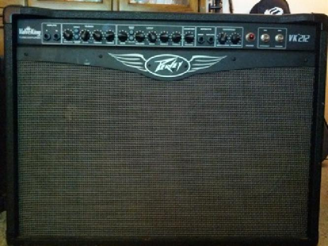 250 obo peavey valveking 212 100w tube combo guitar amplifier w footswitch for sale in wheaton. Black Bedroom Furniture Sets. Home Design Ideas