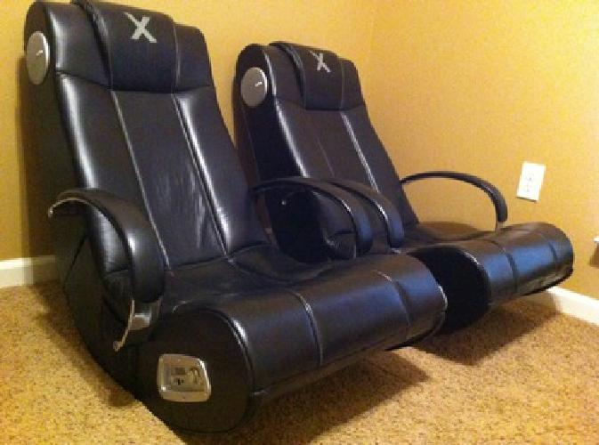 $250 OBO Two X Rocker Gaming Chairs