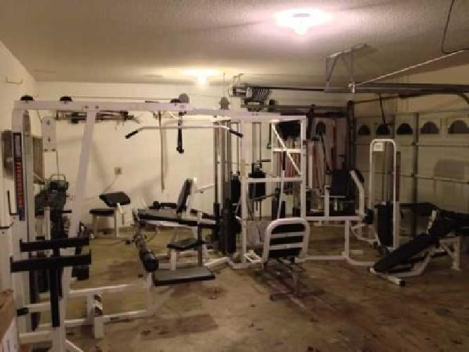 250 leg machine: