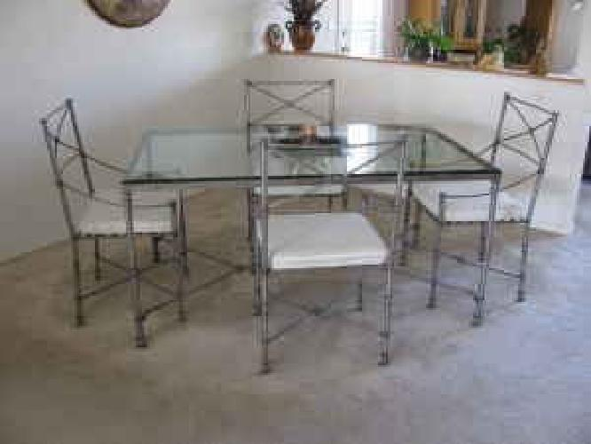 $250 Pier 1 Medici Dining Set (table And Chairs)