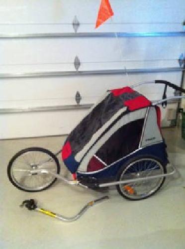 250 Trek Transit Deluxe Trailer Jogging Stroller For Sale