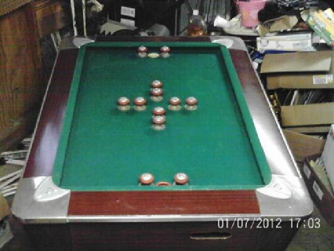 250 vintage fischer fiesta 58 bumper pool table for sale - Bumper pool bumpers ...