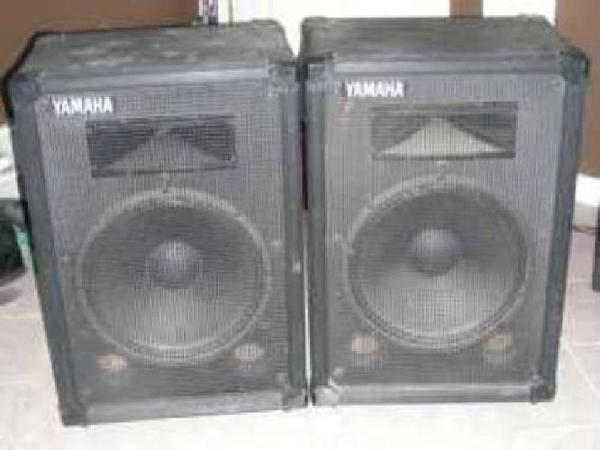 250 yamaha pa speakers s115h for sale in brentwood