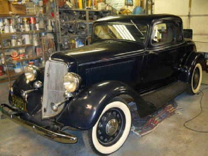 $25,000 1934 plymouth 5 window coupe for sale in Paramus