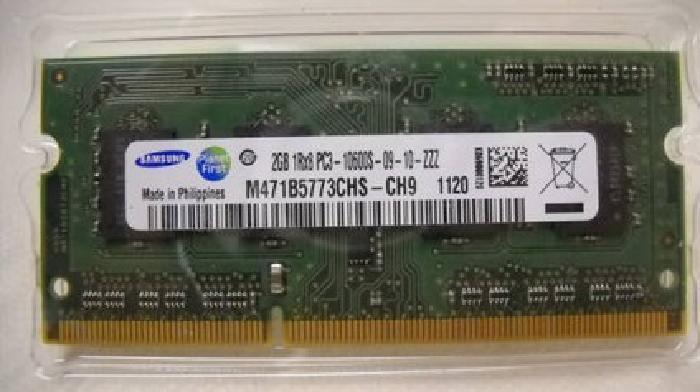 $25 4 GbLaptop Memory