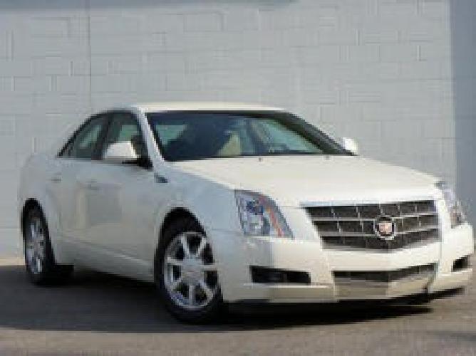 $25,995 2008 Cadillac CTS 4dr Sdn AWD w/1SB