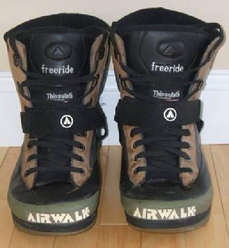 $25 Airwalk Freeride Snowboard Boots, Women's 10.5