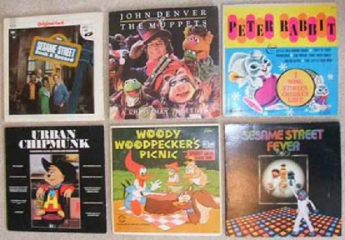 $25 Children's Records: Sesame Street, Muppets, Woody Woodpecker, more...