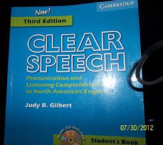 $25 Clear Speech (New Third Edition)