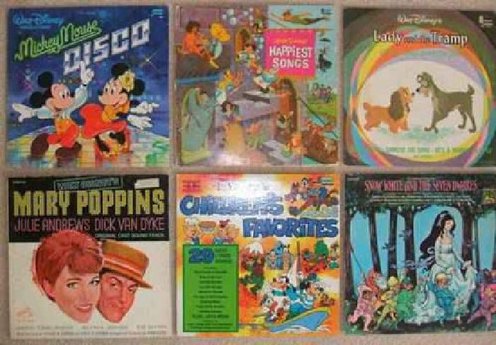 $25 Disney Children's Records