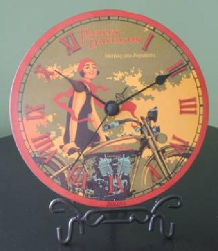 $25 Harley Davidson Clock made by Bulova
