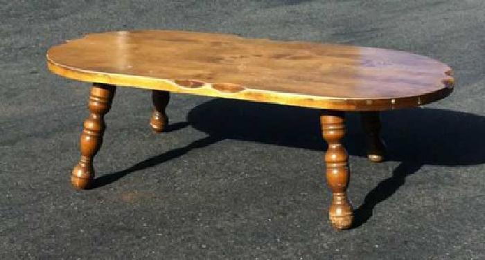 $25 Oak Captain's Coffee Table (rocklin ca 95765)