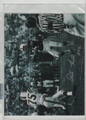 $25 OBO Pete LIske Penn State Autographed Photo..with Certificate of Authenticity
