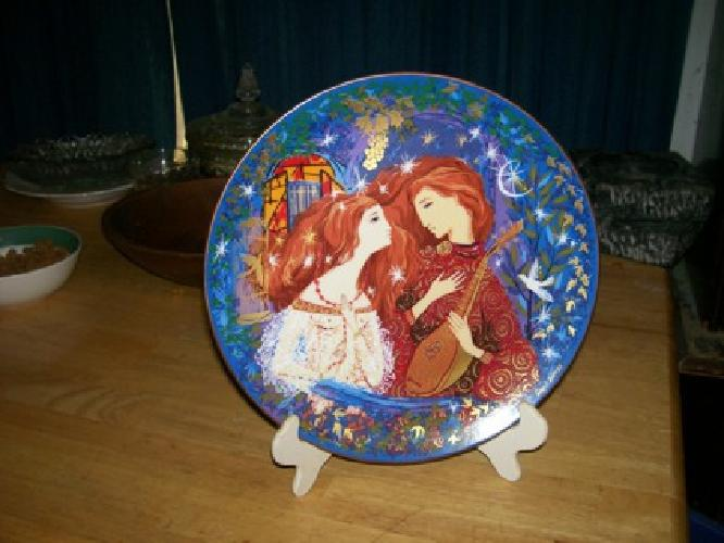 $25 romeo and juliet by russell barrer plate # 954