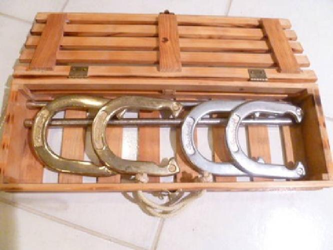 25 sportcraft heritage collection horseshoe outdoor game for Horseshoe crafts for sale
