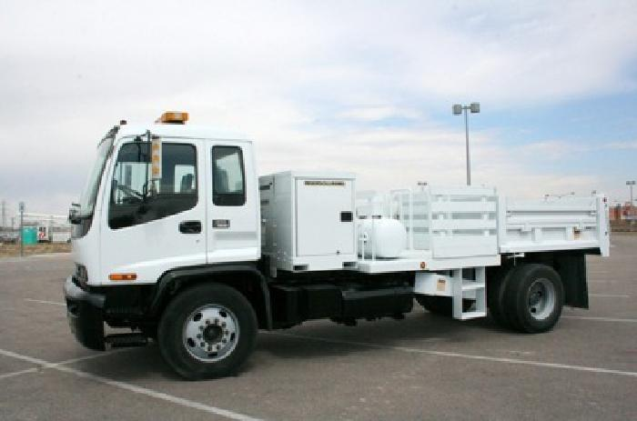 26 990 Gmc T7500 Dump Truck With Air Compressor For Sale