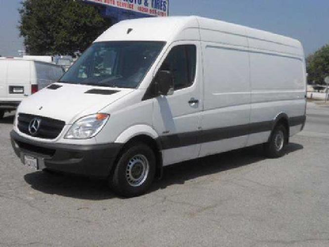 Mercedes sprinter van for sale california for Used mercedes benz sprinter cargo van for sale
