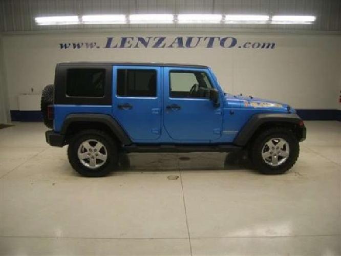 26 997 2010 Jeep Wrangler Islander 4 Door Leather Winch Piaa Lights 4wd 1 Owner For Sale In