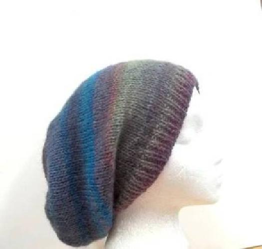 USD26 Colorful knit Beanie Beret wool acrylic Slouch Hat xl ...