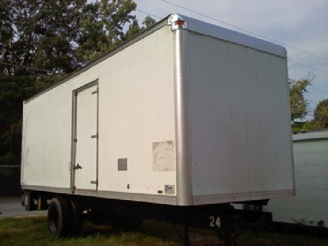 26 ft long used truck body, 103
