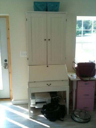 $275 White IKEA Alve Secretary desk