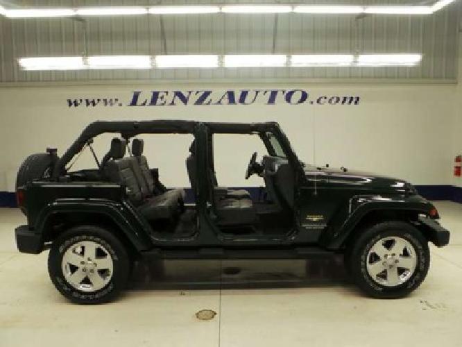 $27,497 2010 Jeep Wrangler SAHARA-4 DOOR-SECOND BENCH ...