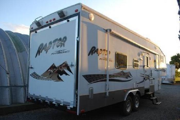 27 500 Just In 2007 Keystone Raptor 299 33 Ft Toy