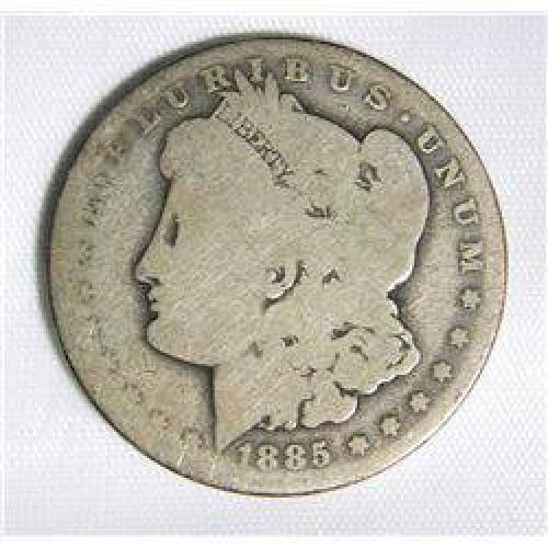 $27.50 1885-O Morgan Dollar