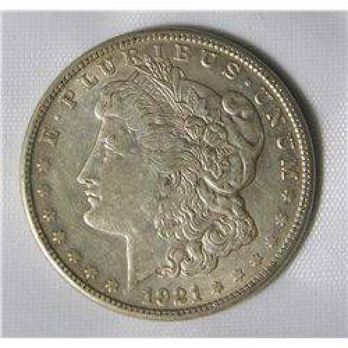 $27.50 1921-S Morgan Dollar
