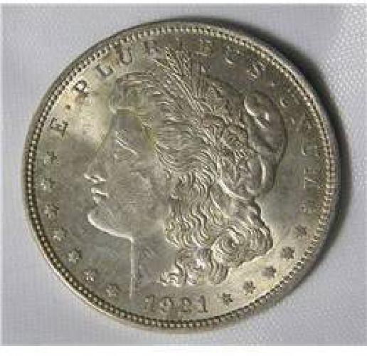 $27.50 1921 Morgan Dollar