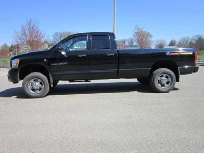 27 995 used 2006 dodge ram 2500 for sale for sale in cambridge ohio classified. Black Bedroom Furniture Sets. Home Design Ideas