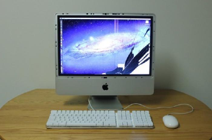 $285 20-inch iMac 2.4 GHz Intel Core 2 Duo - Mac OS 10.7.5 Lion
